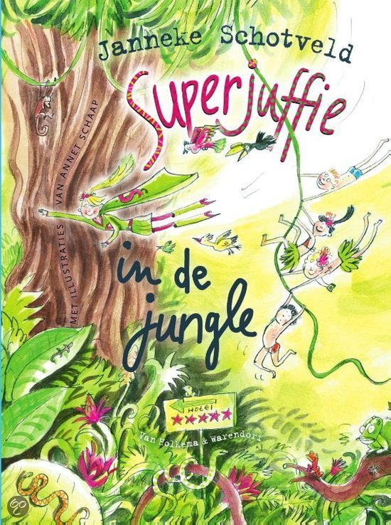 Recensie: Superjuffie in de jungle