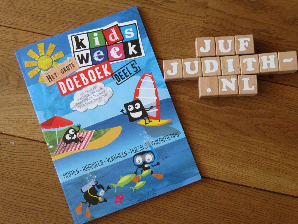 Recensie: Het grote Kids-week doeboek, deel 5
