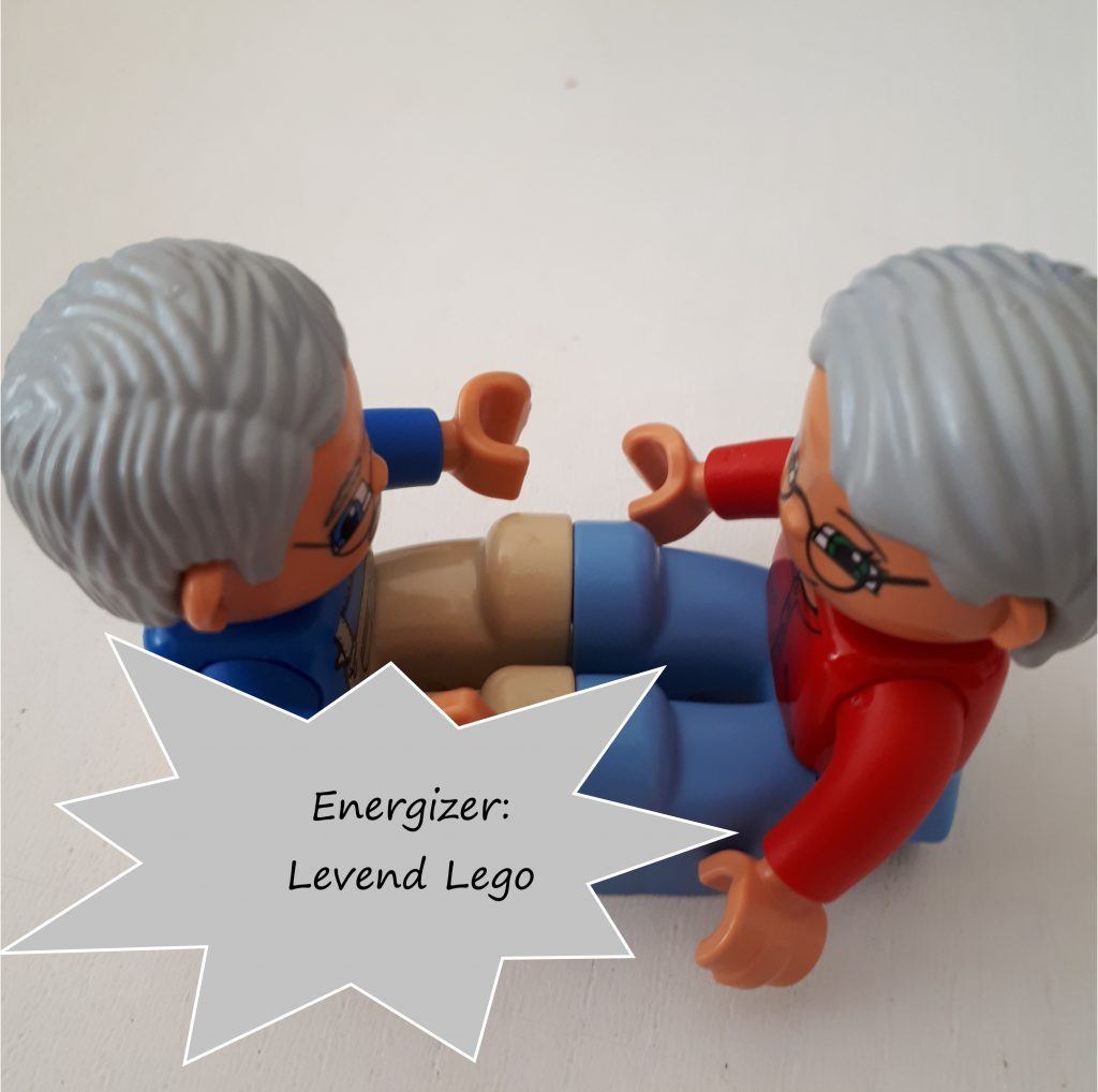 Energizer: Levend Lego