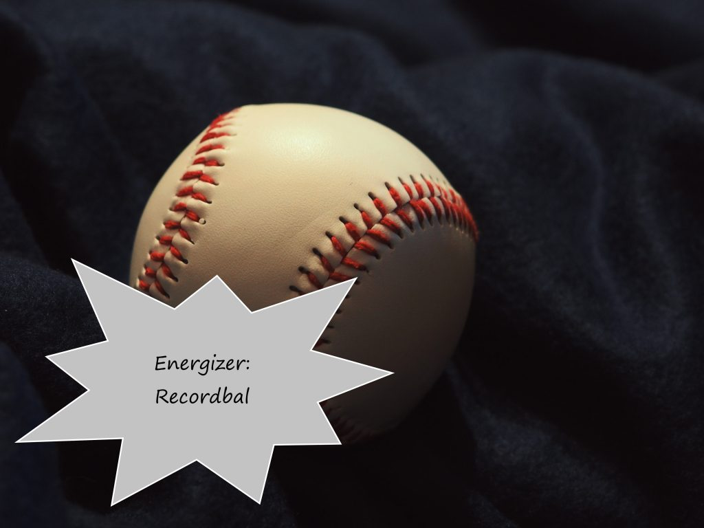 Energizer: Recordbal