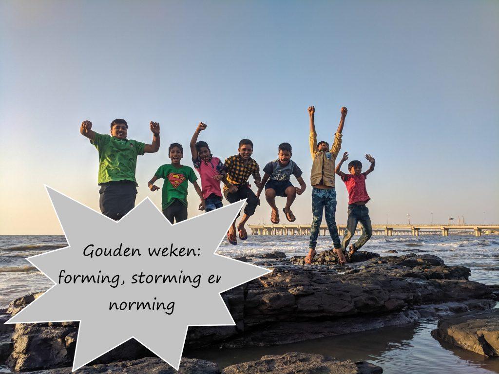 De Gouden Weken: forming, storming en norming