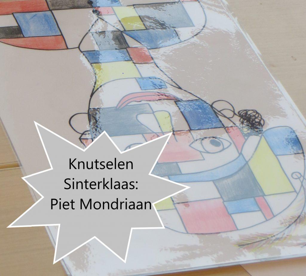 Knutselen: Piet Mondriaan