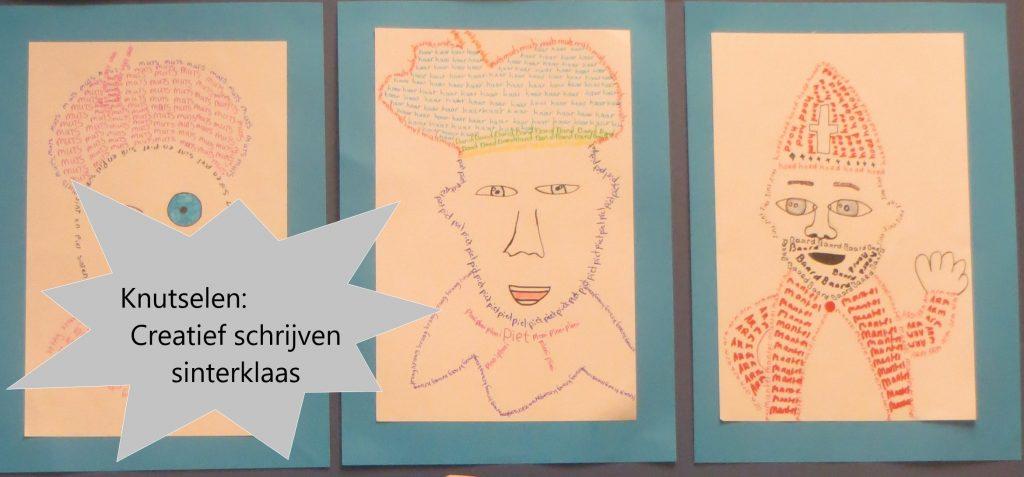 Creatief schrijven Sinterklaas