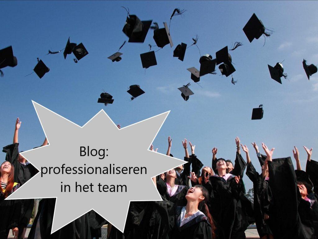 Professionaliseren in het basisonderwijs