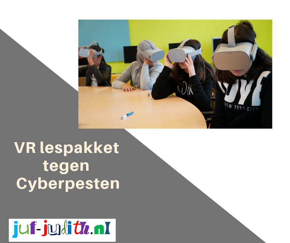 VR lespakket tegen cyberpesten