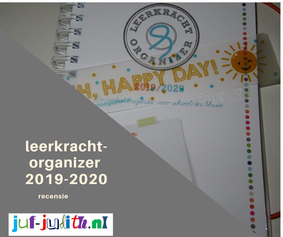 Recensie: Leerkrachtorganizer 2019-2020
