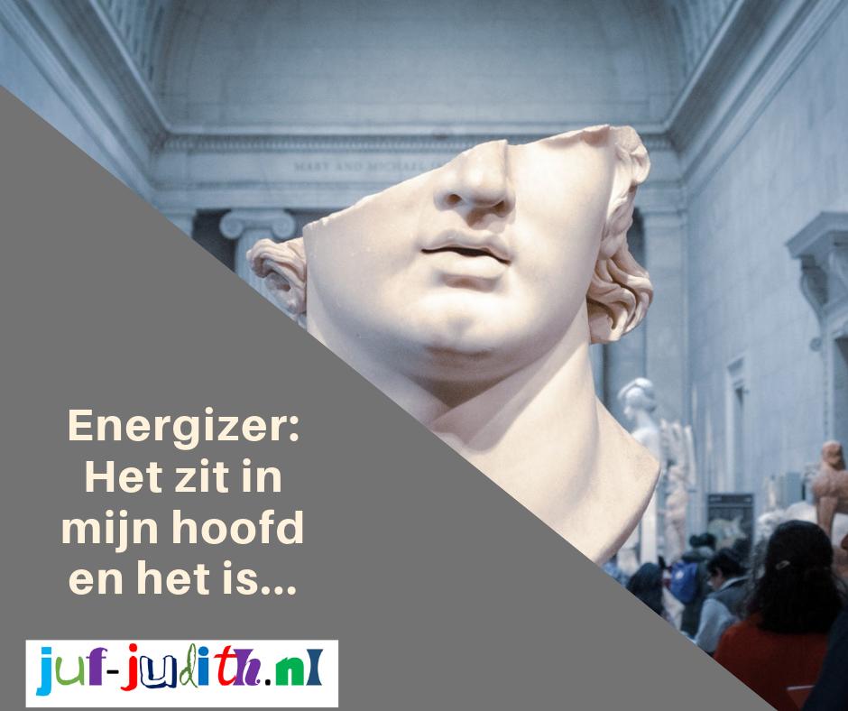 Energizer: Het zit in mijn hoofd en het is