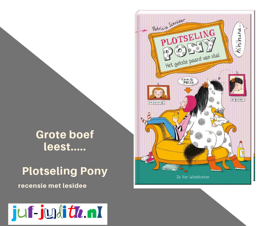 Grote boef leest: Plotseling Pony - Het gekste paard van stal