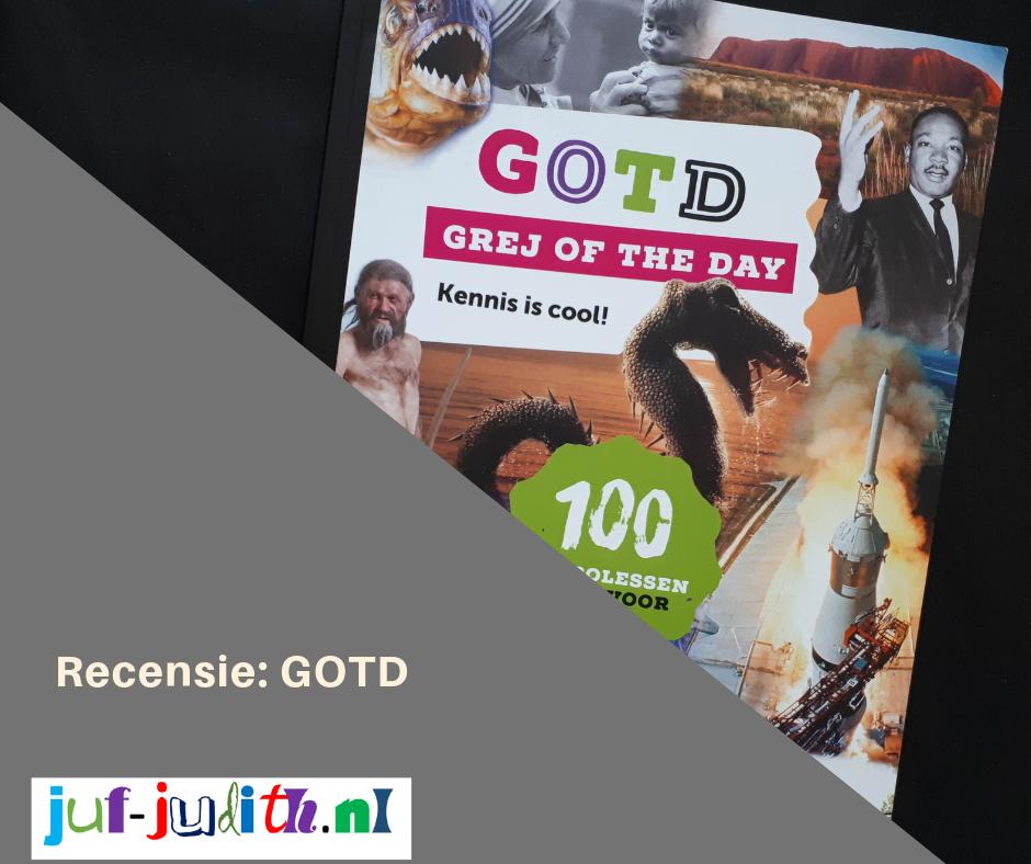 Recensie: GOTD - Grej of the day - Kennis is cool!