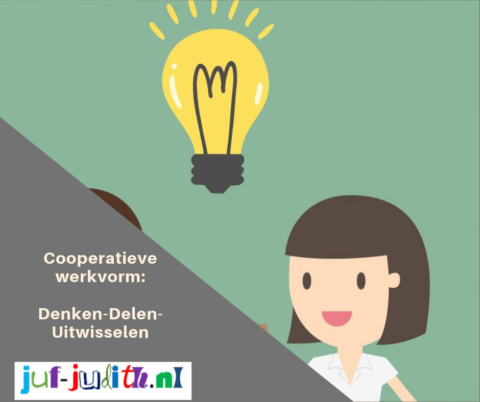 Cooperatieve werkvorm: Denken- Delen- Uitwisselen