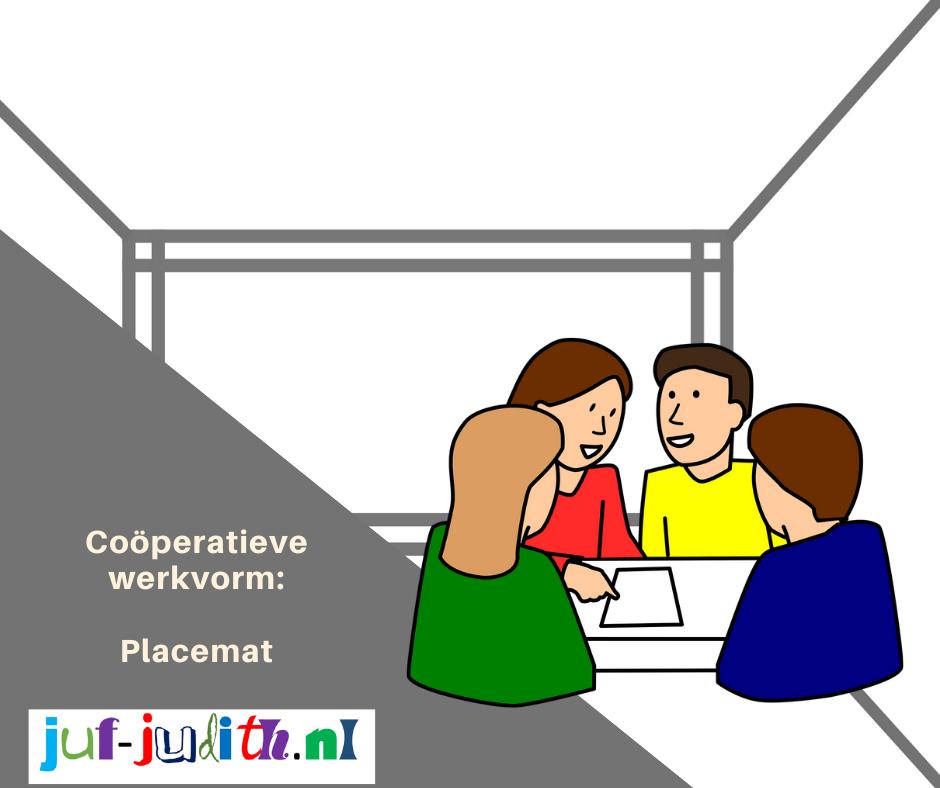Coöperatieve werkvorm: Placemat