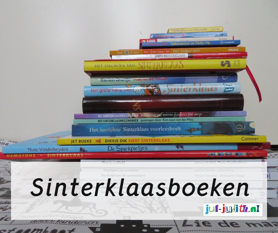 Kinderboeken bij het thema Sinterklaas
