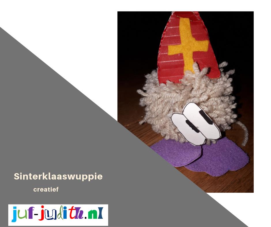 Sinterklaas of Piet wuppie