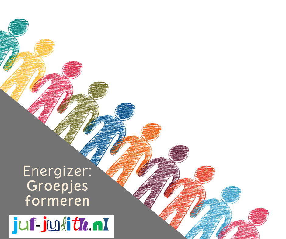 Groepjes formeren - een energizer