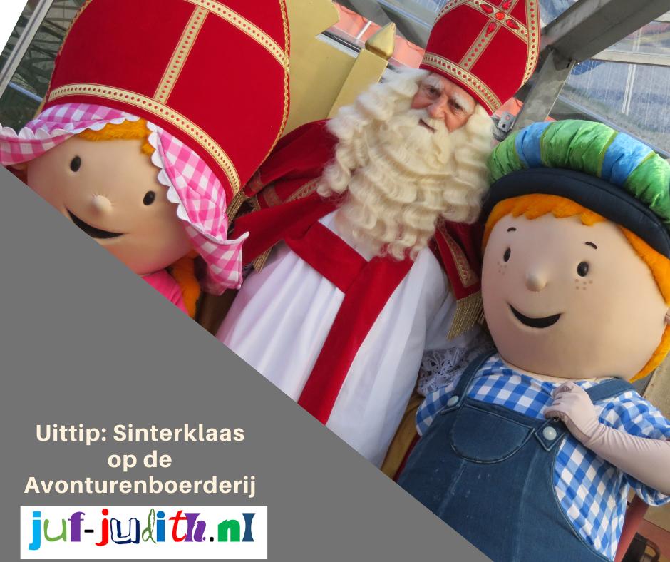 Uittip: Sinterklaas op de Avonturenboerderij