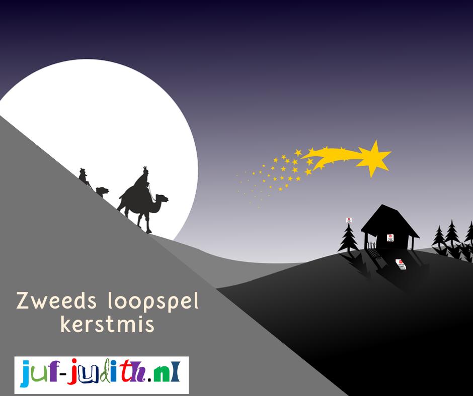 Zweeds loopspel - kerst