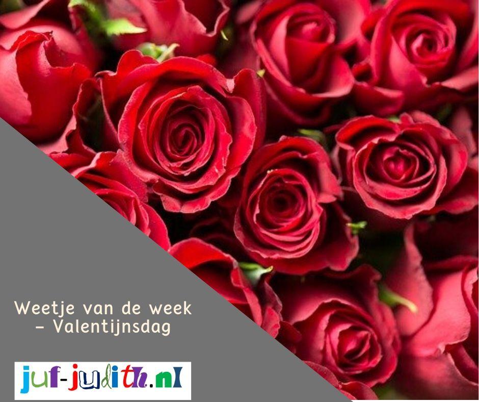 Weetje van de week - Valentijnsdag