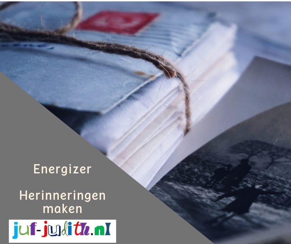 Energizer: Herinneringen maken