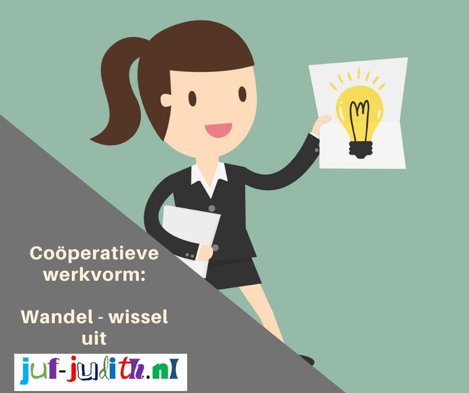 Coöperatieve werkvorm: Wandel- wissel uit