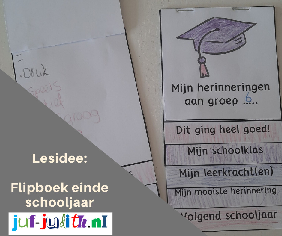 Flipboek einde schooljaar