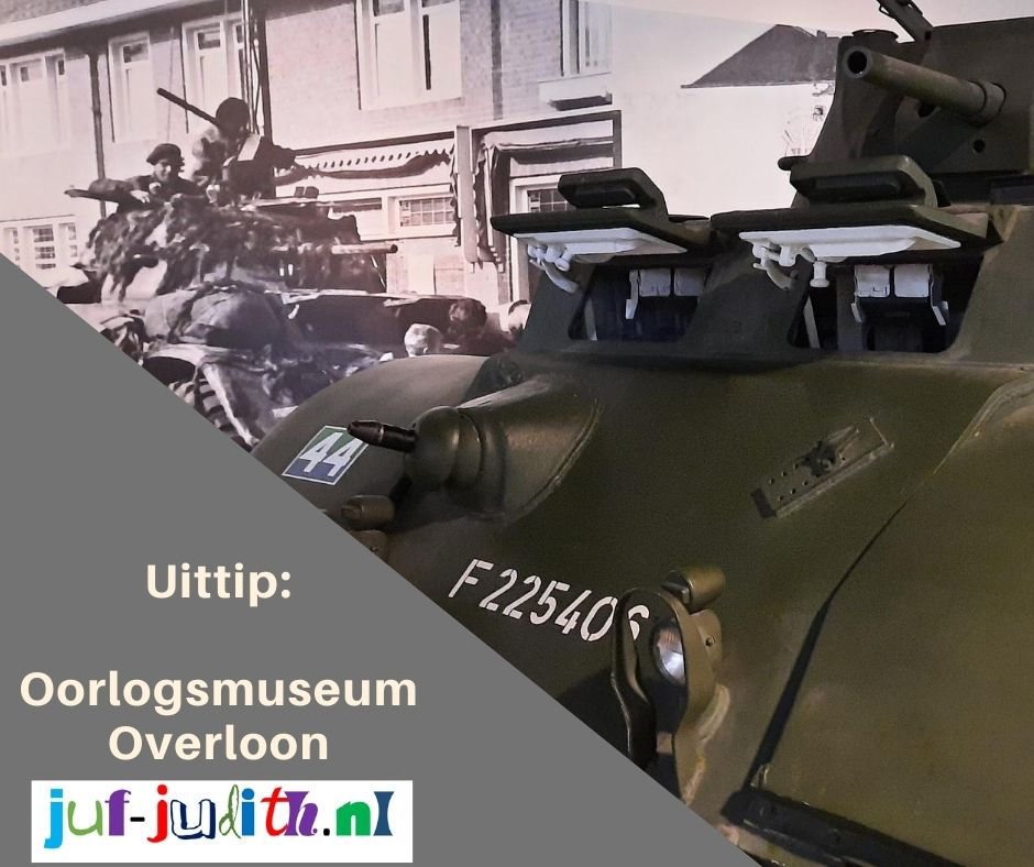 Uittip: Oorlogsmuseum Overloon