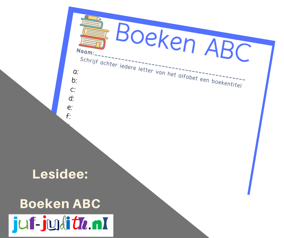 Lesidee: Boeken ABC
