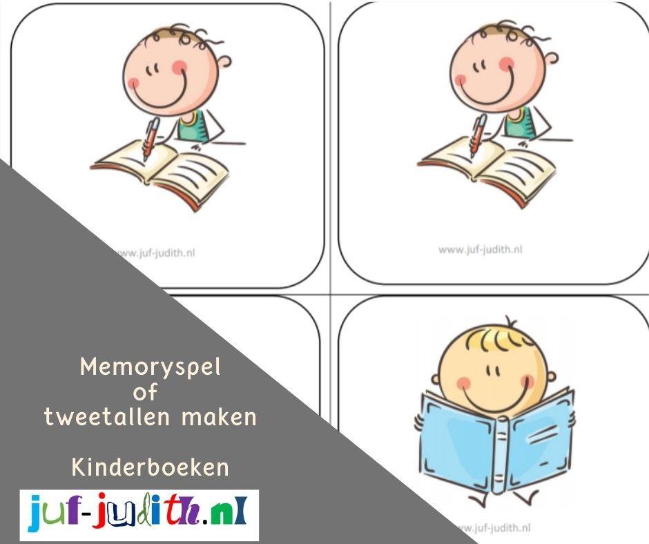Memoryspel en tweetallen maken - Kinderboeken