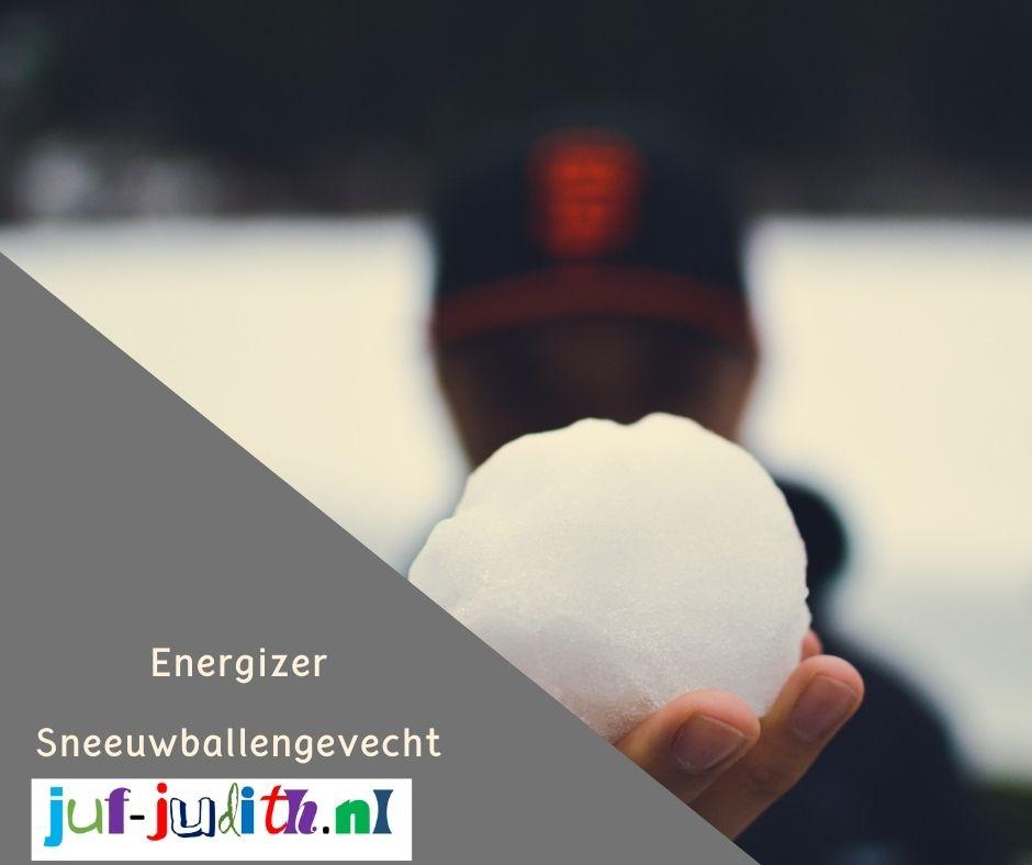 Energizer: Sneeuwballen gevecht