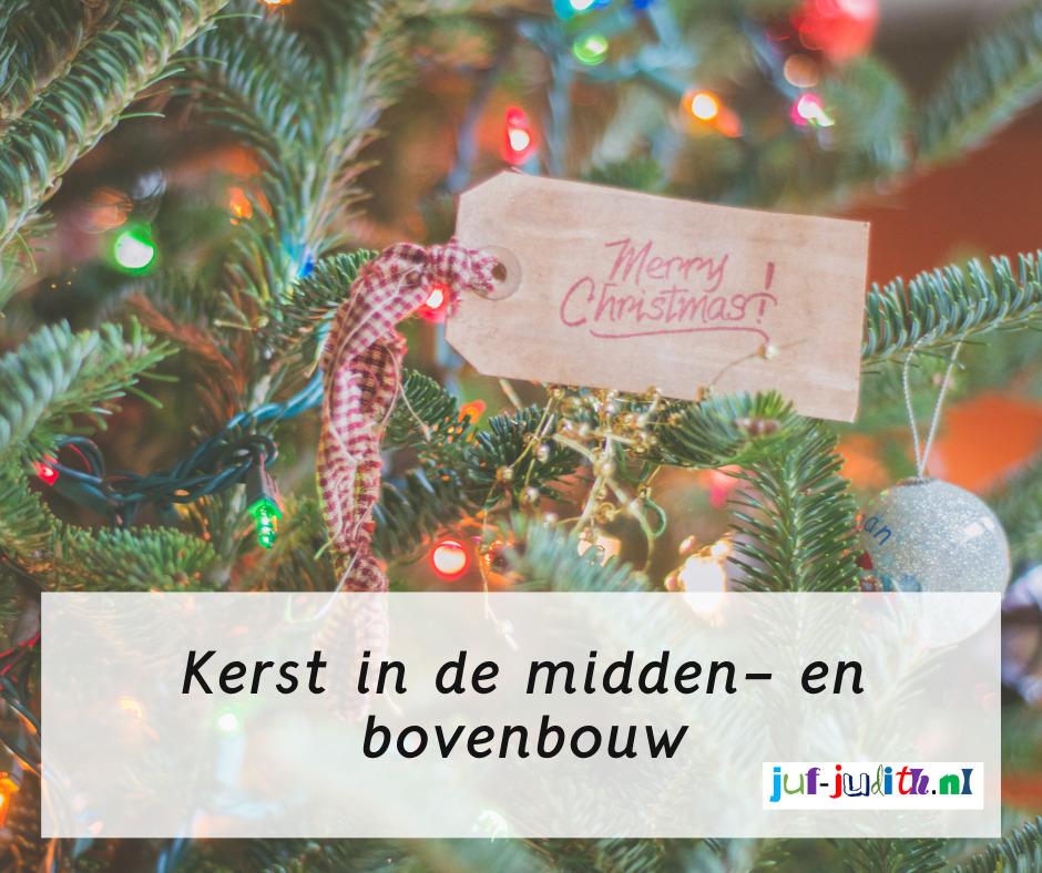Kerst in de bovenbouw