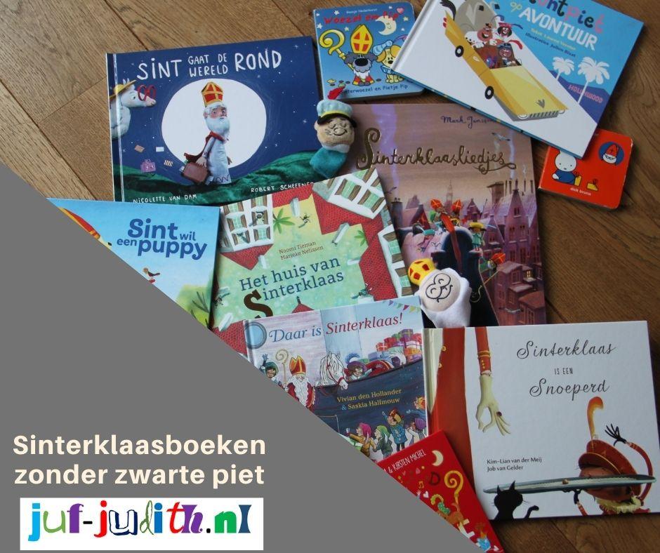 Sinterklaasboeken zonder zwarte piet