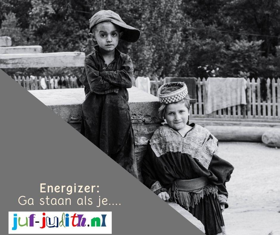 Energizer: Ga staan als je