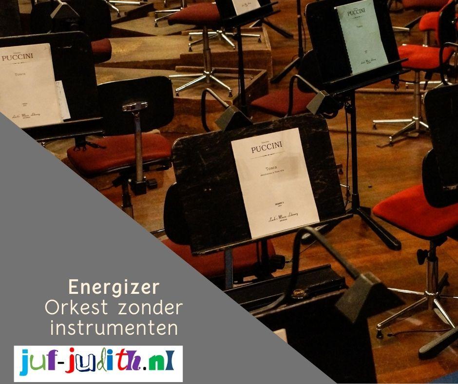 Energizer: Orkest zonder instrumenten
