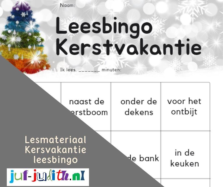 Kerstvakantie Leesbingo