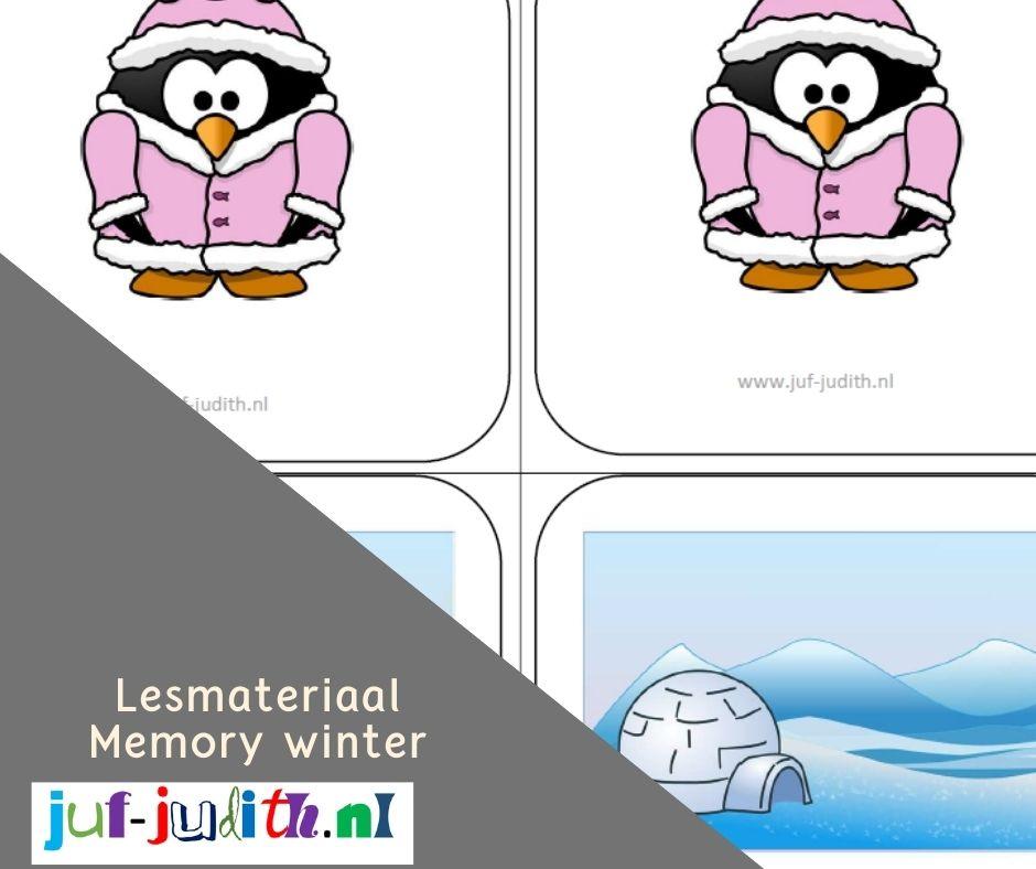 Levend memory - Winter