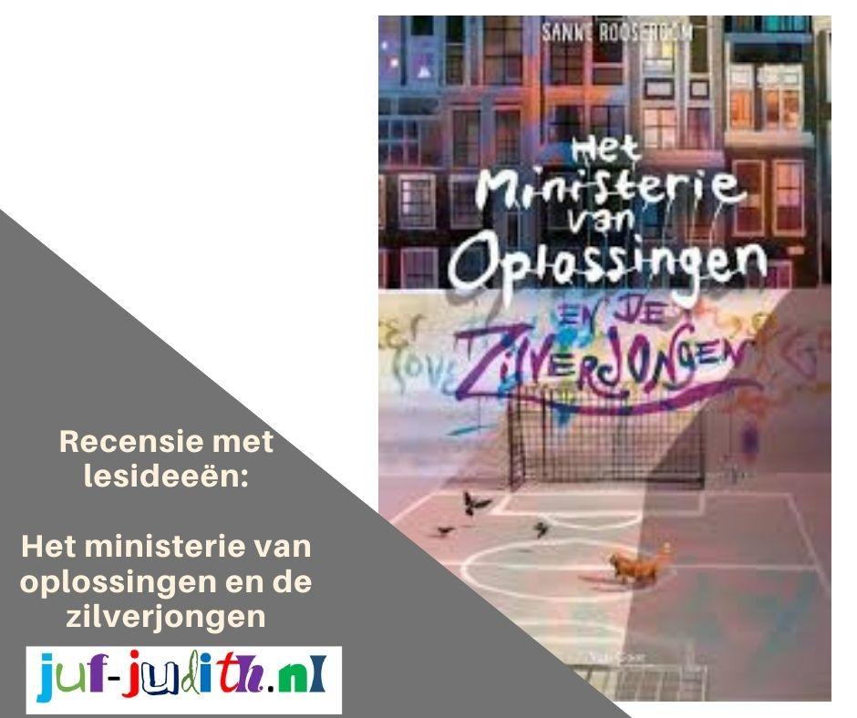 Recensie: Het Ministerie van Oplossingen en de Zilverjongen