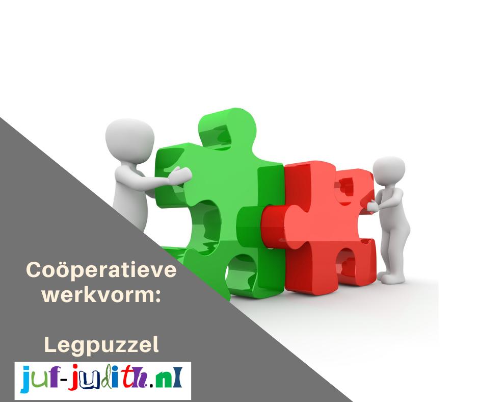 Coöperatieve werkvorm: Legpuzzel