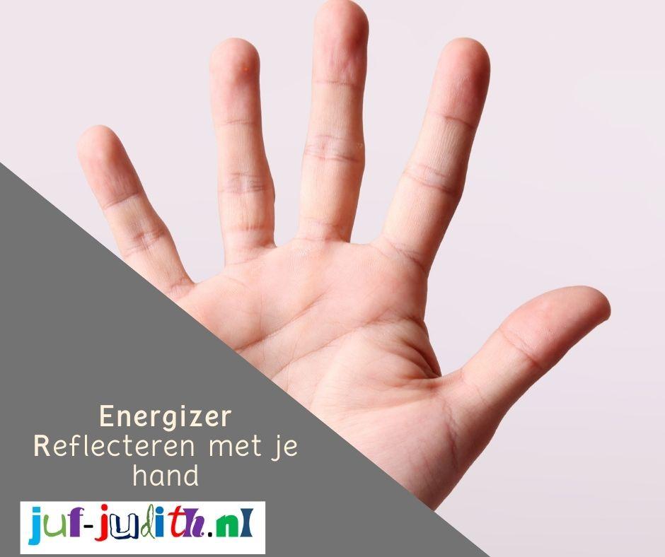 Energizer: Reflecteren met je hand
