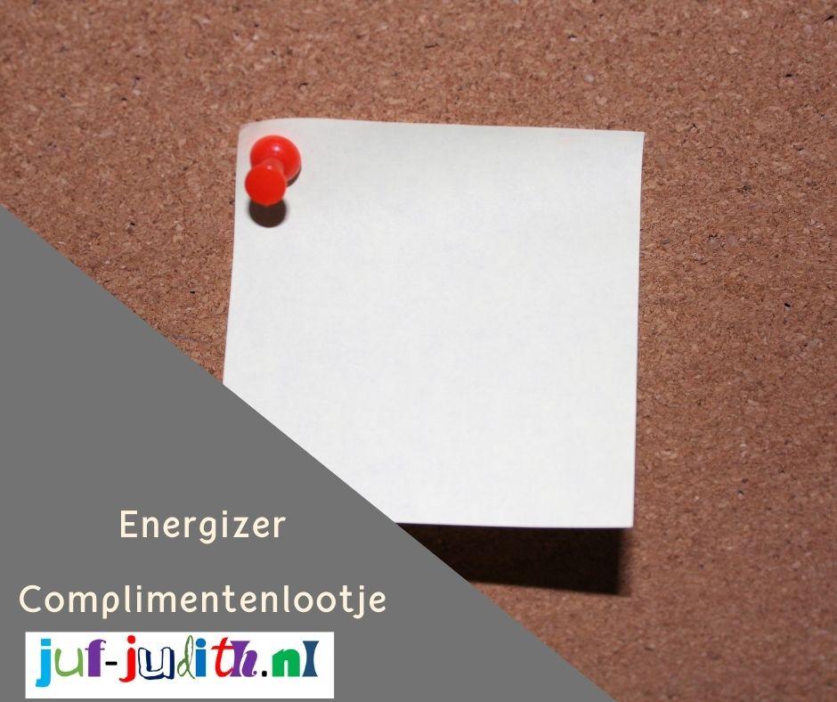 Energizer - Complimentenlootje