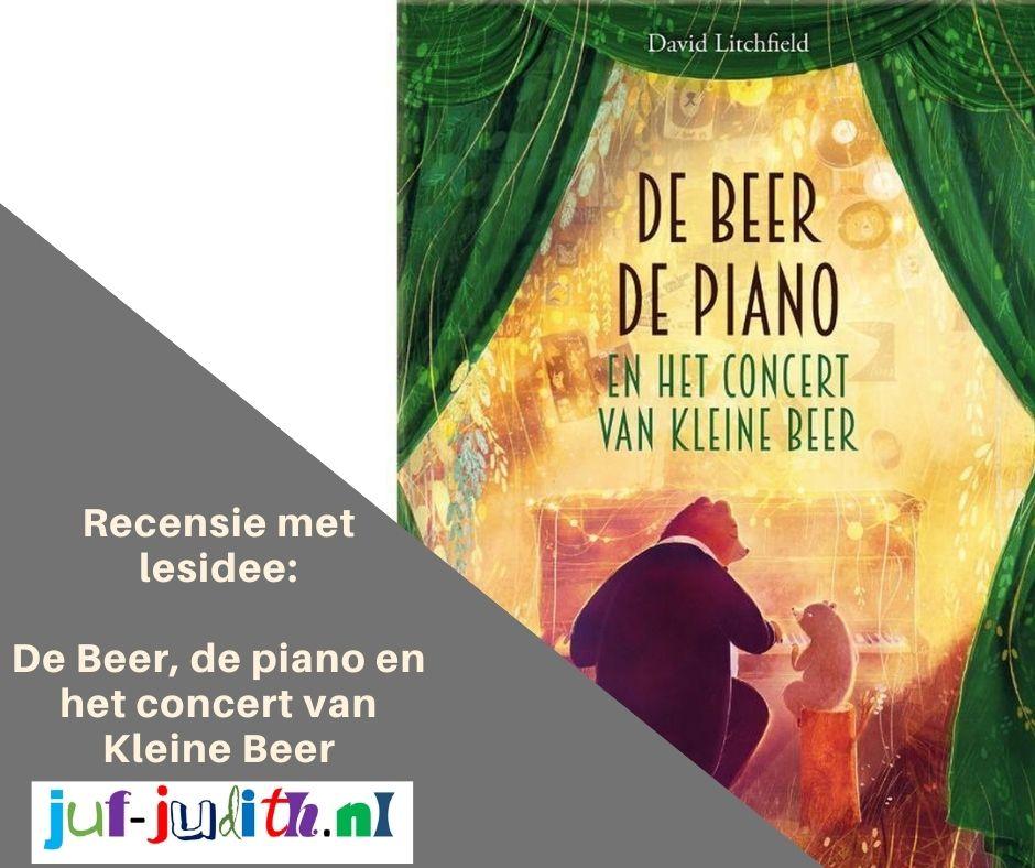 Recensie: de beer, de piano en het concert van kleine beer