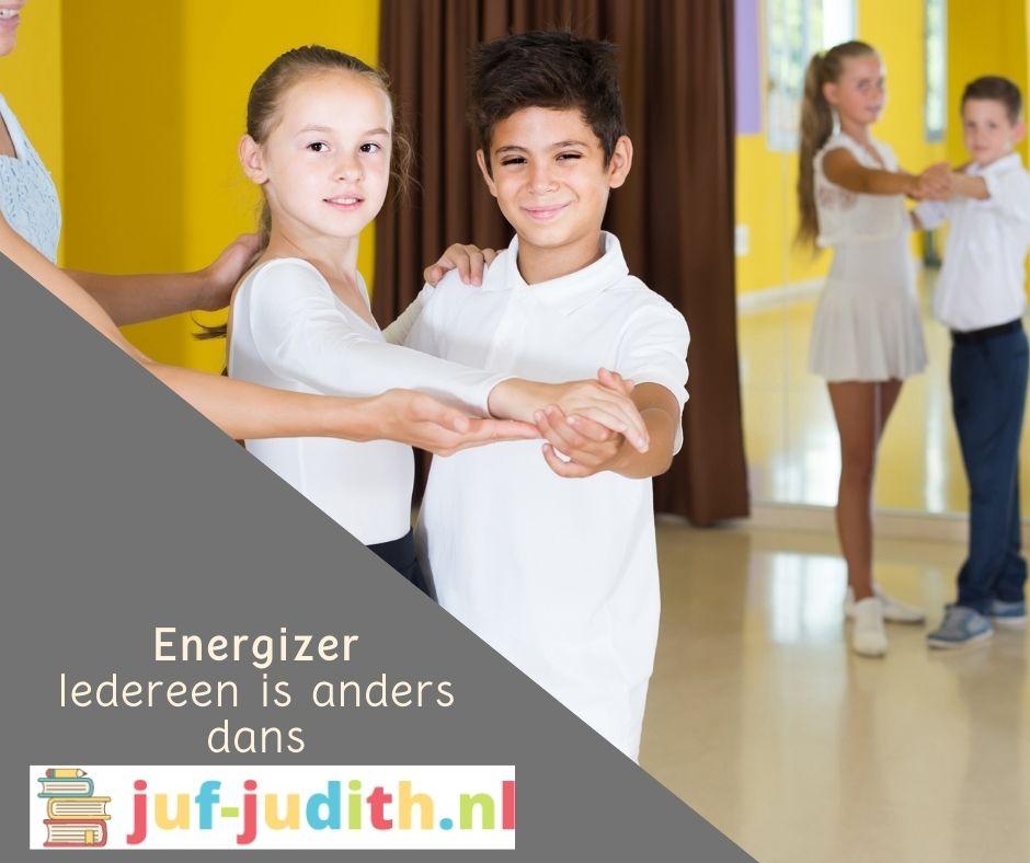 Energizer - Iedereen is anders dans